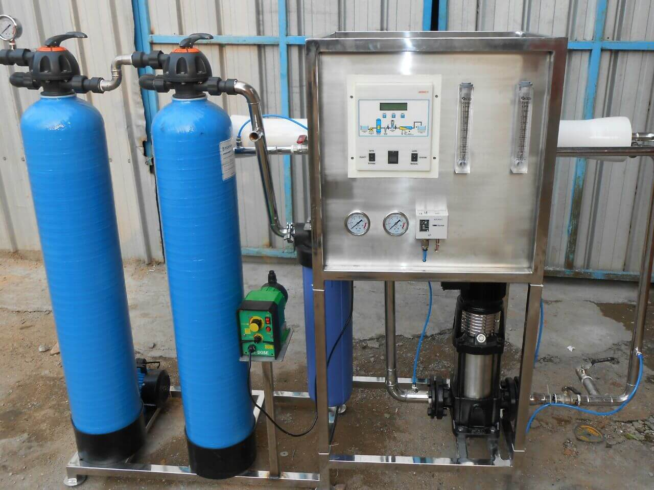 Water plant manufacturers in chennai